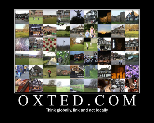 Oxted.com - think globally, link and act locally
